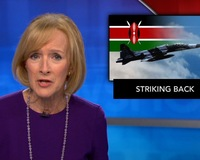 News Wrap: Kenyan military troops destroy al-Shabab training camp in air strike