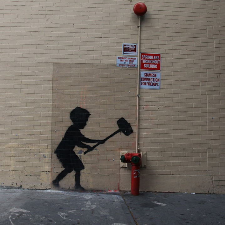 Banksy Better Out than In