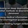 Doctors' role in enhanced military interrogation 'clearly violates' ethics