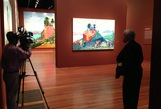 At David Hockney's 'Bigger' exhibition, what you see is what you get