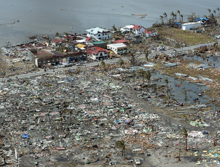 Tacloban destruction