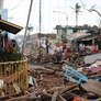 Storm debris continues to be obstacle to typhoon relief efforts