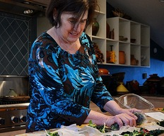 Food writer Paula Wolfert reflects on cooking to cope with Alzheimer's