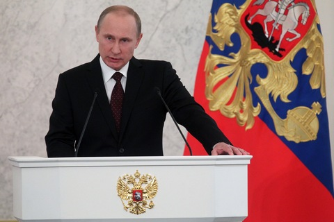 Russian President Vladimir Putin Delivers Annual Speech