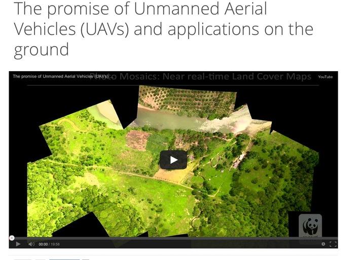 World Wildlife Fund drones