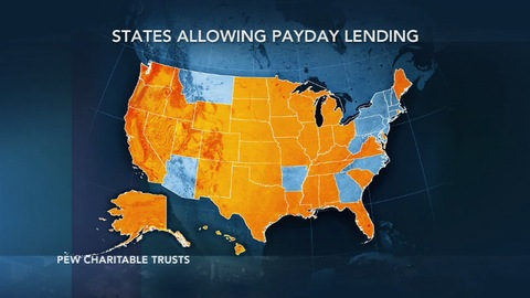 payday lending map