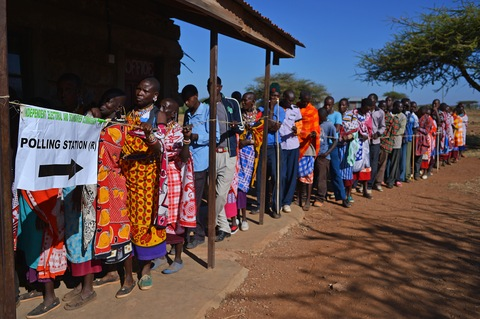 Kenyans Vote in Tense Presidential Elections | PBS ...
